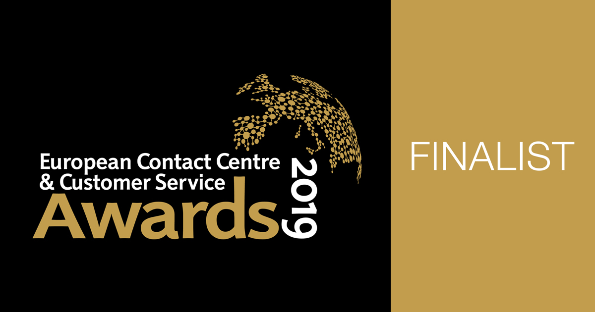 Contact Center of the Year award - AnyTech365