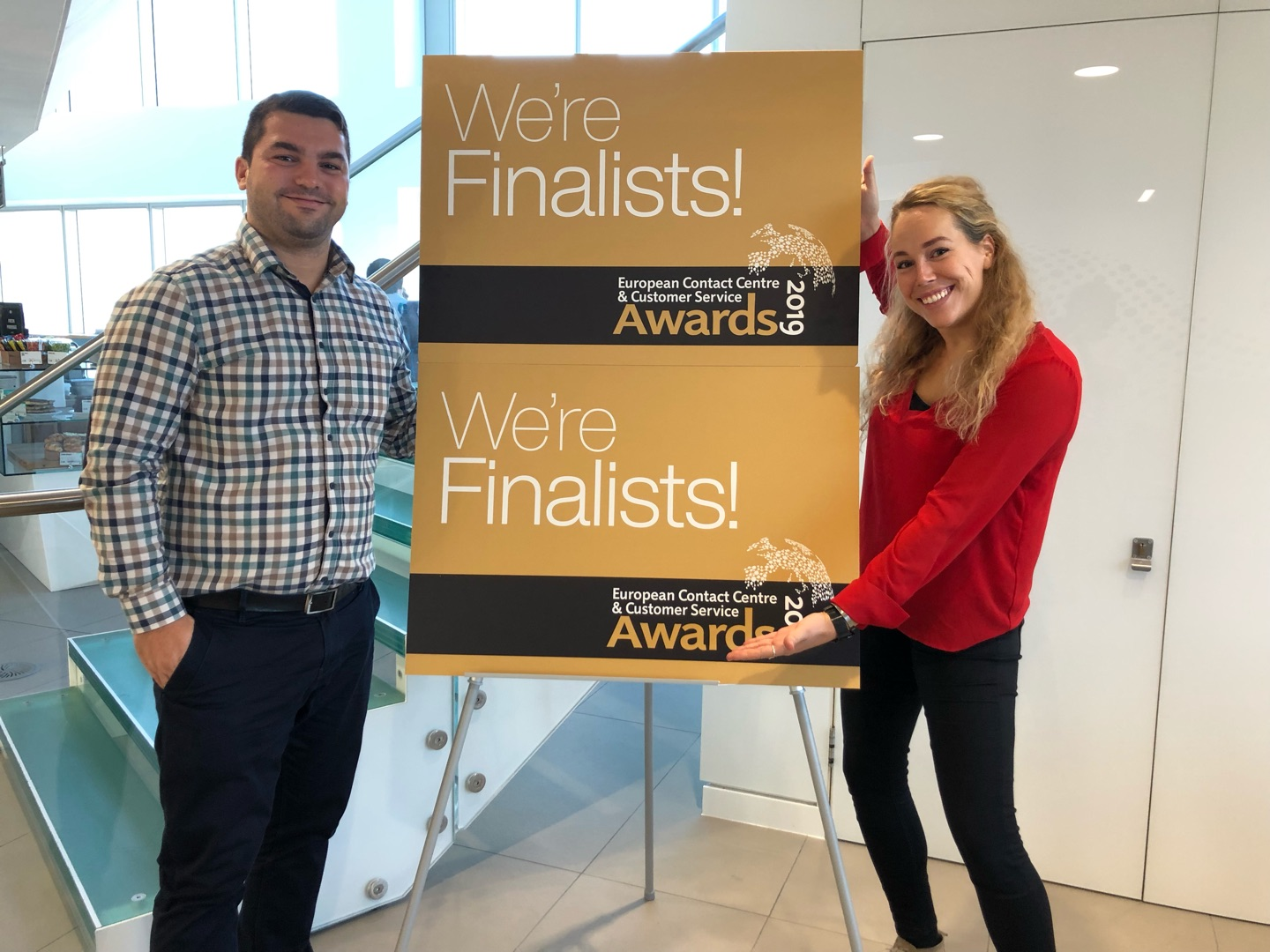 AnyTech365 visits London for the ECCCSA awards