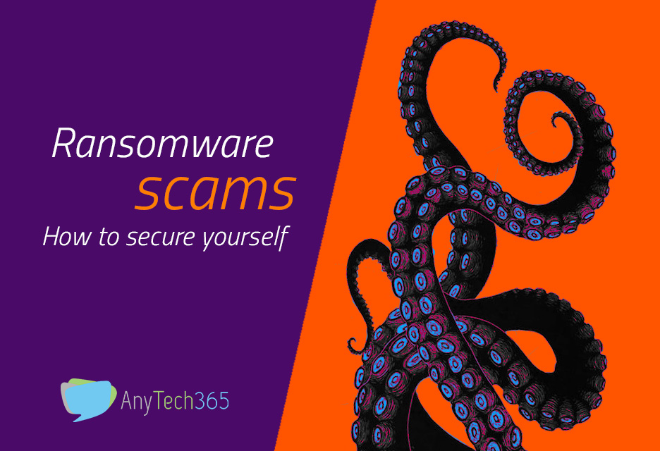 Ransomware scams
