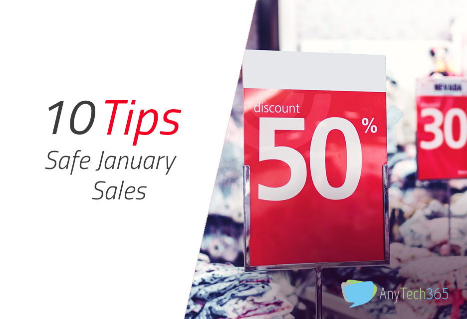 Safe January sales 10 tips for a safe online experience