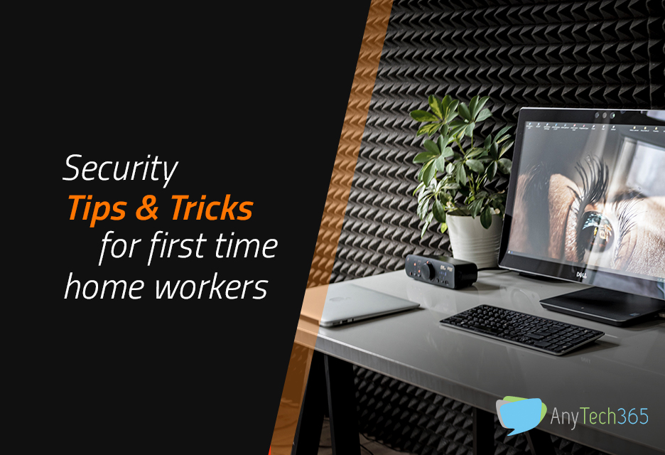 Work securely from a home office