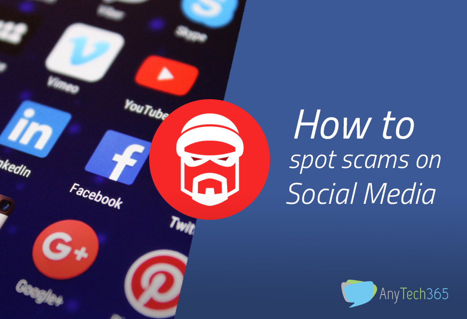 How to spot scams on Social Media